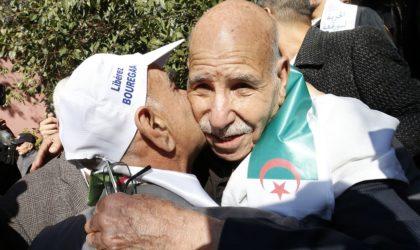 La condition du moudjahid Bouregâa avant sa libération a-t-elle été acceptée ?