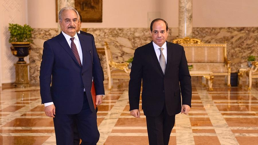 Haftar Sissi L'Algérie