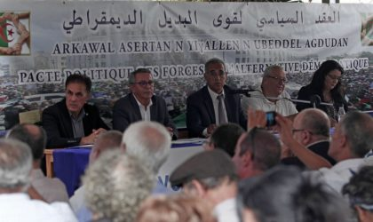 Les forces du Pacte de l'alternative démocratique tiennent leurs assises ce samedi