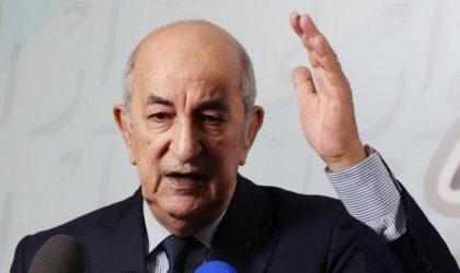 Monsieur Tebboune, arrêtez l'hécatombe de la dissolution de l'Etat !