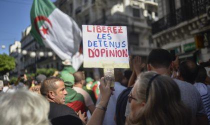 Des figures historiques, politiques, syndicales et associatives à la libération de tous les détenus politiques