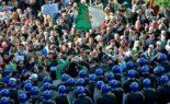 Répression de la manifestation du 52e mardi