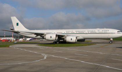 Remise en service de l'imposant avion présidentiel cloué au sol depuis dix ans