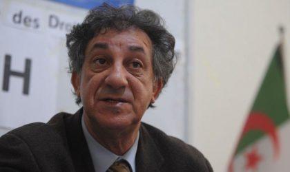 La LADDH dénonce l'empêchement d'une réunion d'acteurs de la société civile à Alger