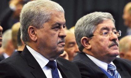 Report du procès en appel de Sellal et Ouyahia relatif au montage automobile