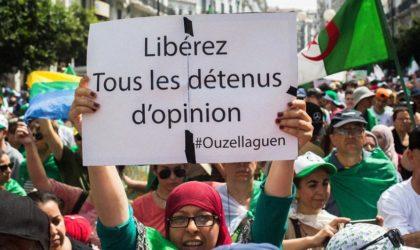 Vingt militants du Hirak condamnés aujourd'hui à des peines de prison ferme
