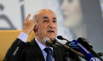 Abdelmadjid Tebboune dresse un tableau noir de la situation économique dans le pays