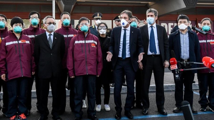 Italie médecins chinois