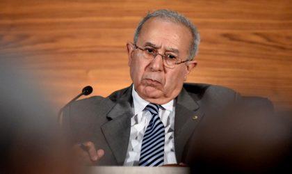 Deux pays arabes sabotent le choix de l'Algérien Lamamra pour la Libye