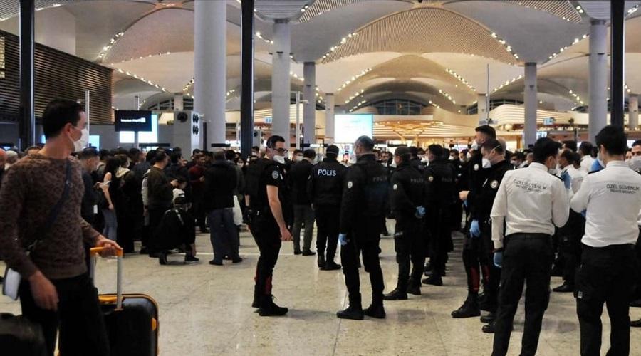 passagers algériens Istanbul