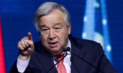 Guterres : «Si le coronavirus mute en Afrique il y aura des millions de morts»