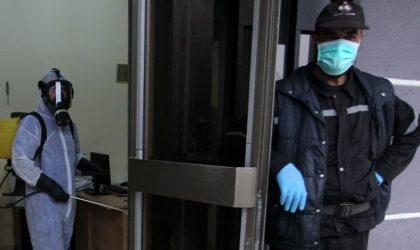 Constantine : la police demande aux citoyens de rentrer à la maison