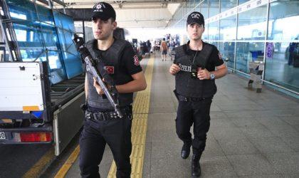 Intervention brutale de la police turque contre les Algériens bloqués à Istanbul