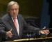 Le secrétaire général de l'ONU lance un appel urgent à un cessez-le-feu mondial immédiat