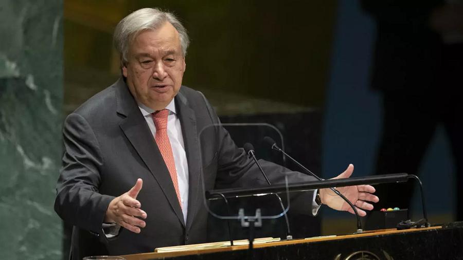 Guterres appel cessez-le-feu