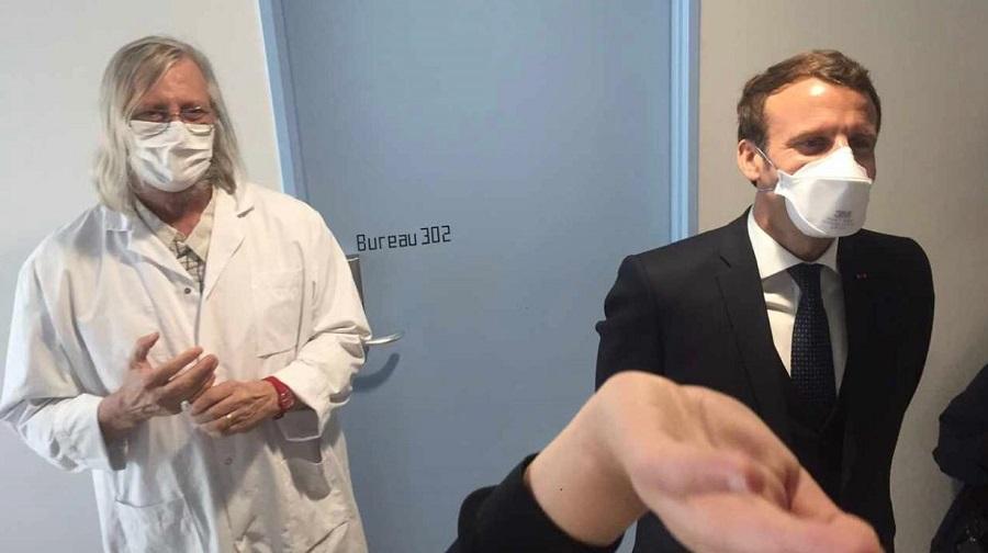 Macron Raoult médecins algériens