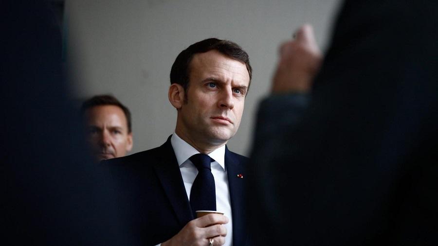 Macron scandales d'Etat