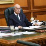 Tebboune Bouteflika remaniement