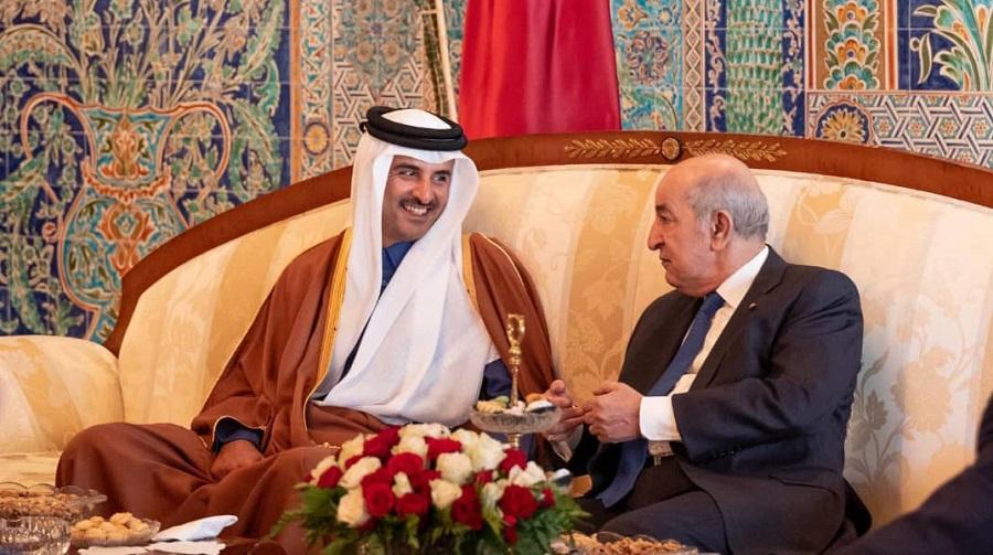 Tebboune Qatar