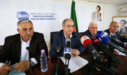 Le FFS réitère l'urgence d'un dialogue responsable pour sauver l'Etat de l'effondrement