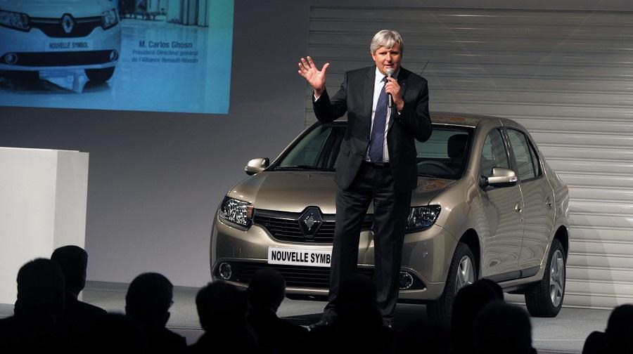 Renault marque au losange