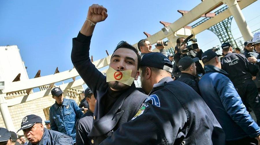 journalistes médias algériens