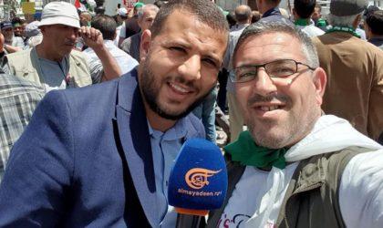 Le journaliste Sofiane Merakchi quitte la prison après avoir purgé sa peine