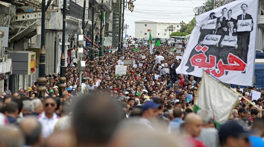 manif nation algérienne
