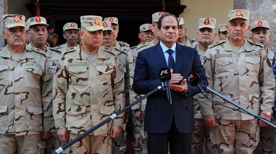 Al-Sissi Egypte Libye