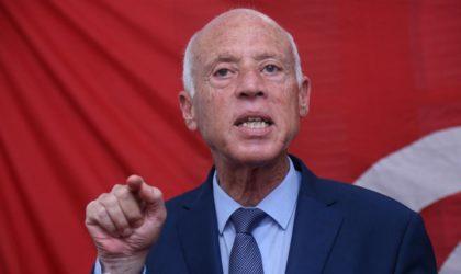 Saïed avertit : «Le plan de division de la Libye vise aussi l'Algérie et la Tunisie»