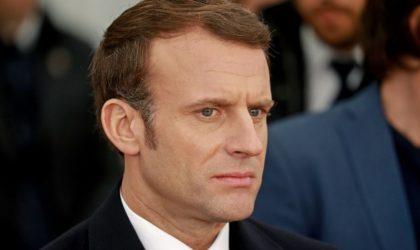 Un Africain adresse un message à Macron