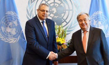 Sofiane Mimouni à la tête du Comité des conférences de l'AG de l'ONU