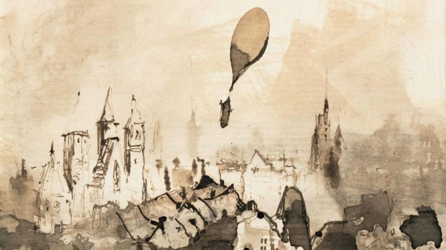 départ ballon Victor Hugo