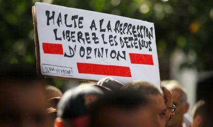 Marche à Béjaïa pour la libération des détenus d'opinion