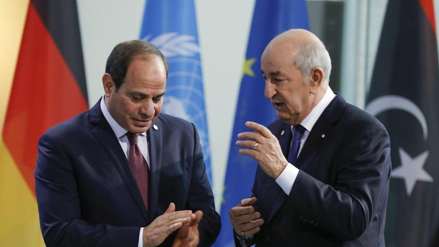 Libye Sissi Tebboune