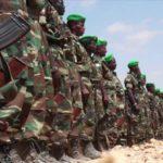 soldats l'Ethiopie