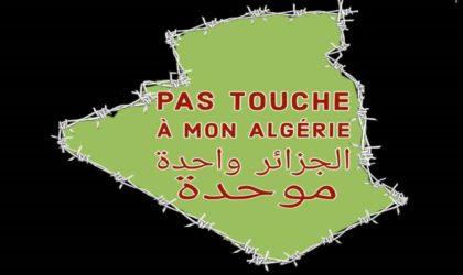 Campagne pour la défense de l'Algérie contre un complot extérieur en cours