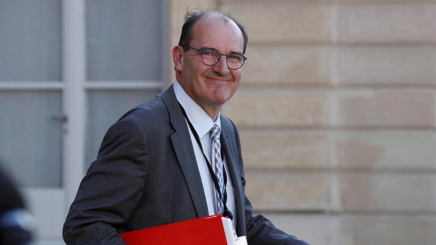 Castex Emmanuel Macron
