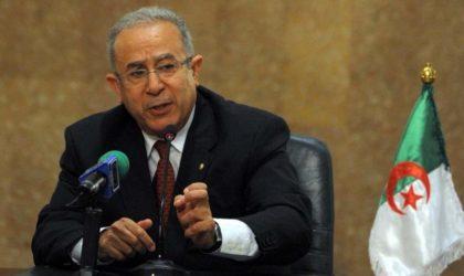 Les révélations du Libanais Salamé qui expliquent le complot contre Lamamra