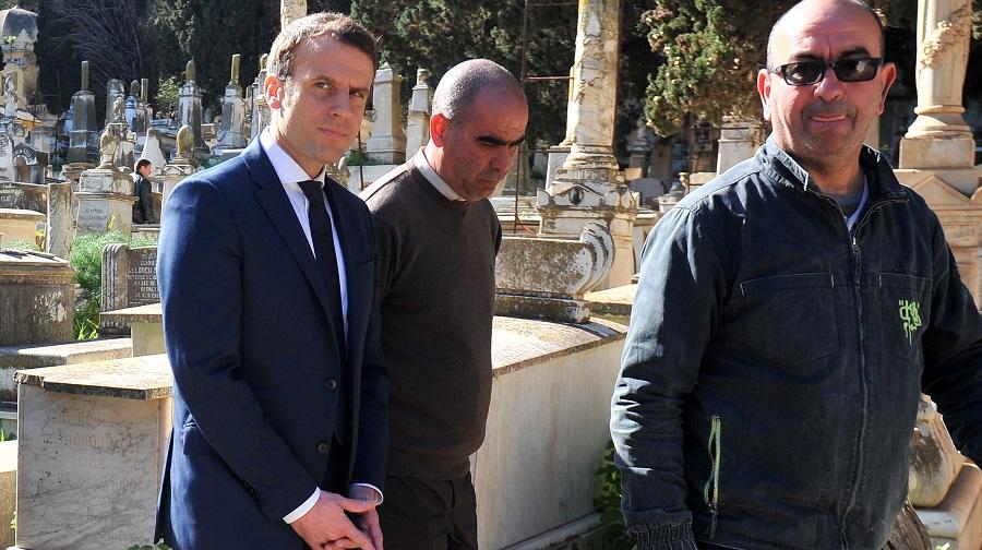 Macron Farid Belkadi