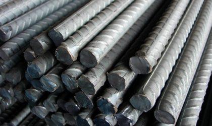 Plus de 30 000 tonnes de rond à béton exportées vers les Etats-Unis, le Canada et le Royaume-Uni