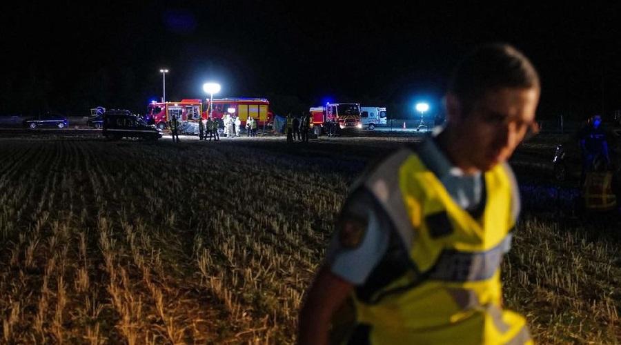 accident cinq enfants tués Albon