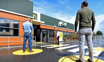 Coronavirus : les actions de McDonald's en baisse