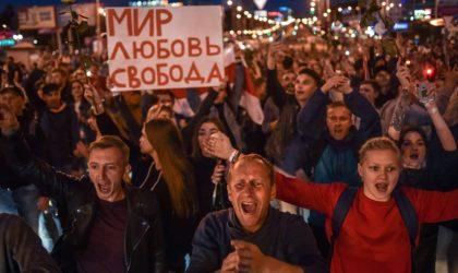 Le ministre biélorusse de l'Intérieur accuse l'étranger de financer les protestations
