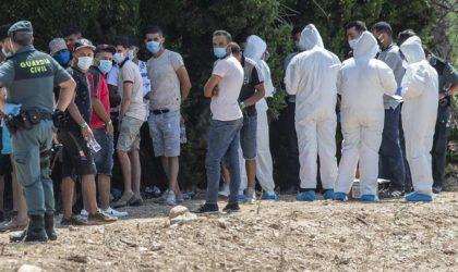 Nouvelle alerte de la police espagnole sur des vagues de migrants algériens