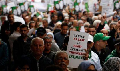 Le combat pour la démocratie appartient à tout le peuple algérien