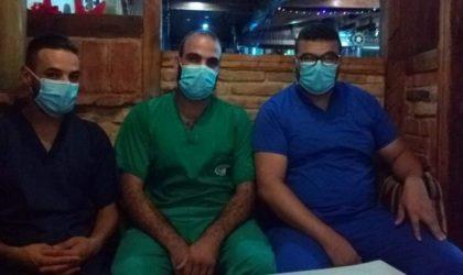 Des aides-soignants au sujet du Covid-19 à Oran : «La situation est stabilisée»