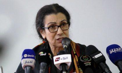 Louisa Hanoune dénonce la criminalisation de l'action et de la pensée politiques