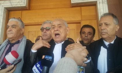 Les révélations du bâtonnier d'Alger sur le dernier mouvement des magistrats