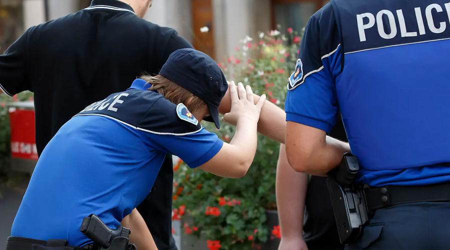 police délinquants
